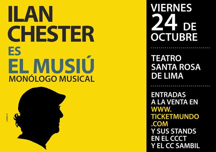 """El Musiu"" de Ilan Chester a favor de YORDANO"