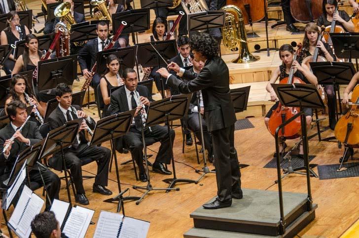 Banda Sinfónica Juvenil Simón Bolívar cierra con broche de oro el I Festival Internacional de Música de Tocancipá