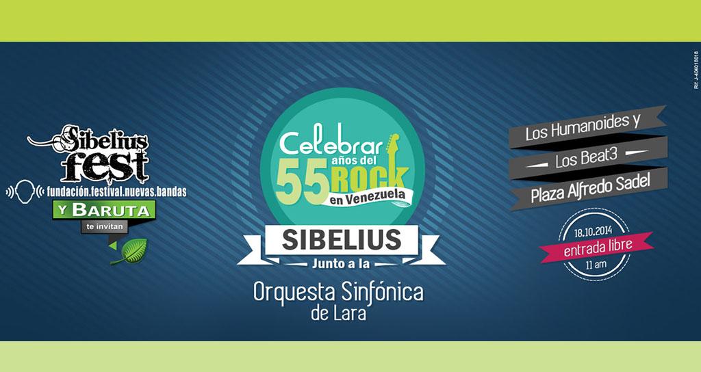 Alianza Sibelius Fest, Fundación Nuevas Bandas y La Alcaldía de Baruta traen el evento del año