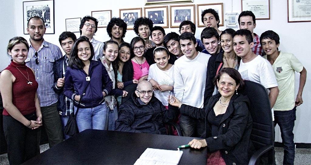 Jóvenes de Barquisimeto y Villa de Leyva comparten atril en un concierto binacional Colombia – Venezuela