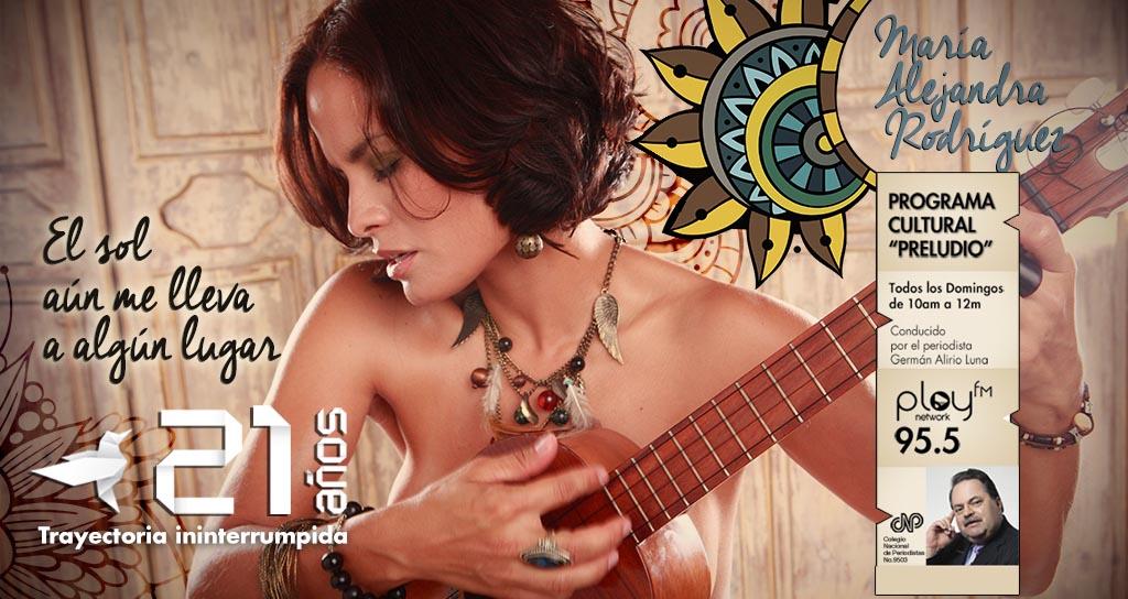 XVIII Festival Latinoamericano de Música y María Alejandra Rodríguez invitados en «Preludio»