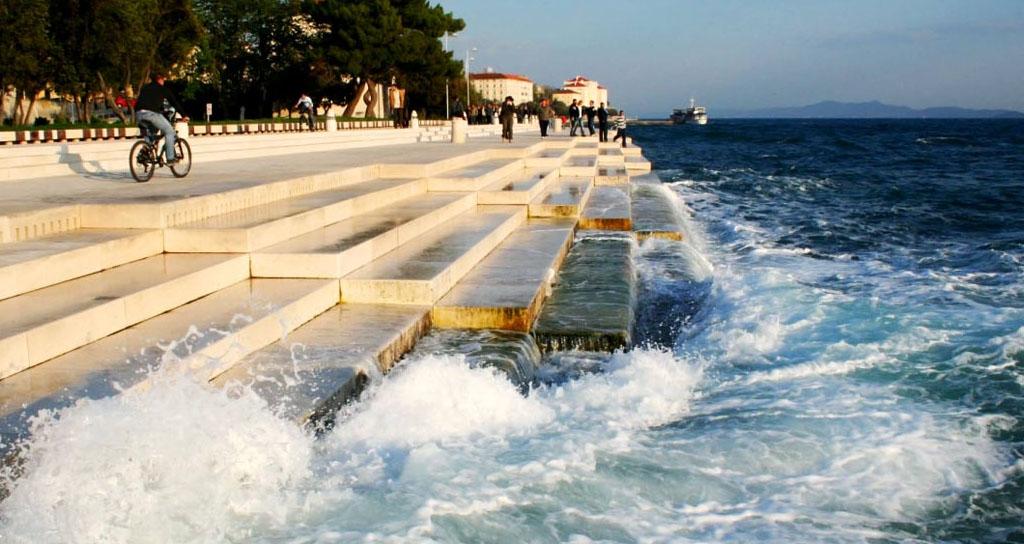 Este es el primer órgano musical que se activa con las olas del mar