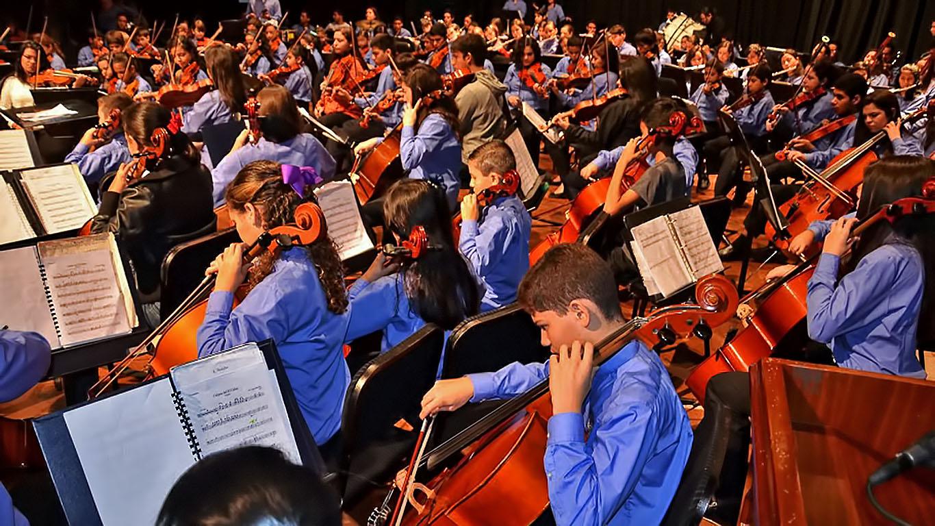 1er Concierto, temporada 2014-2015,de la Orquesta Sinfónica del Conservatorio de Música de Carabobo