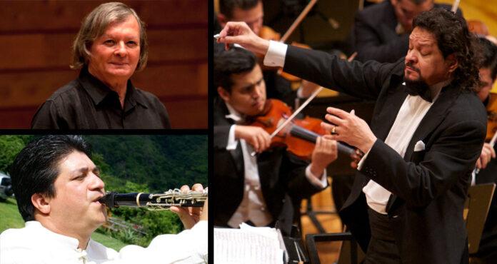 Tres maestros fundadores de El Sistema compartirán escenario con la Orquesta Sinfónica Simón Bolívar