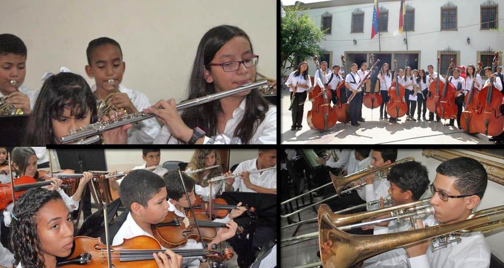 FOTOS | Fundación Musical Simón Bolívar capta músicos en las escuelas