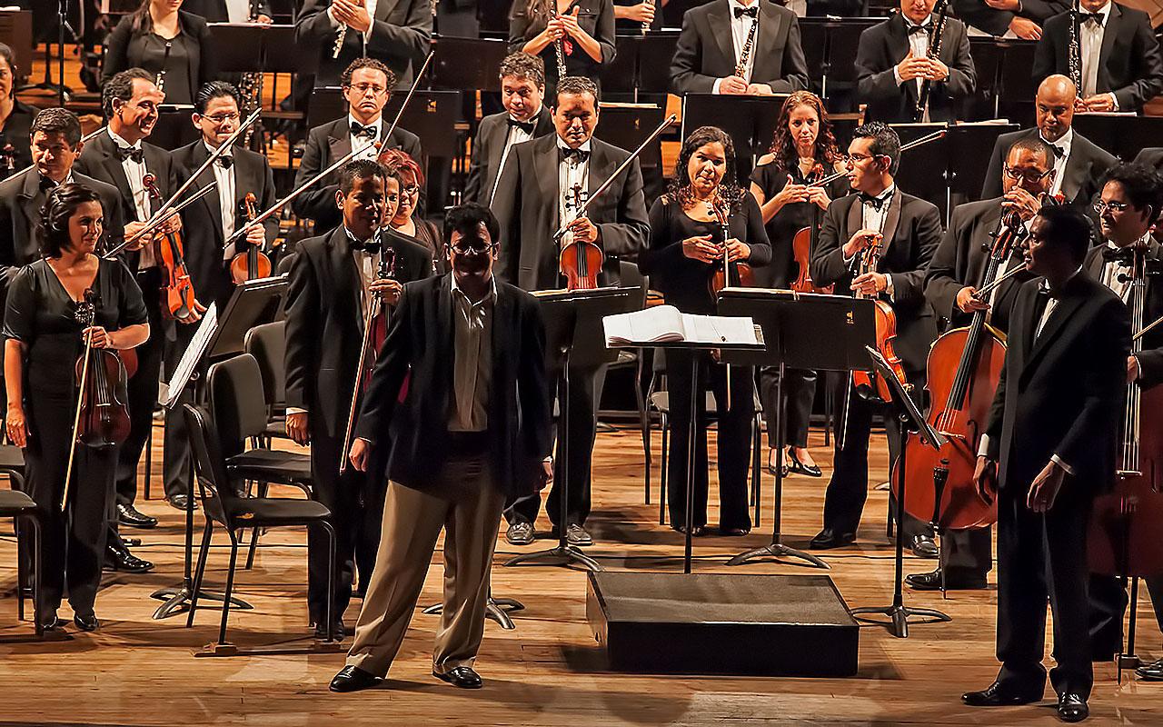 Tricolor viste Teatro Municipal con la serie Venezuela es Música