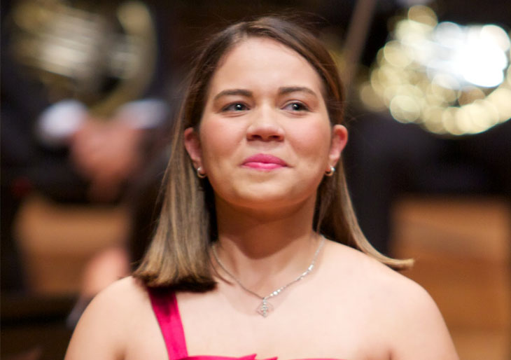 María Vanessa Ascanio interpreta en Aragua el Concierto para Violoncello de Schumann