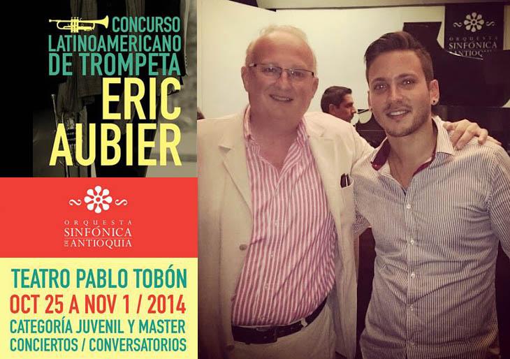 Román Granda y Carlos Bianculli son premiados en concurso latinoamericano de trompeta en Medellín