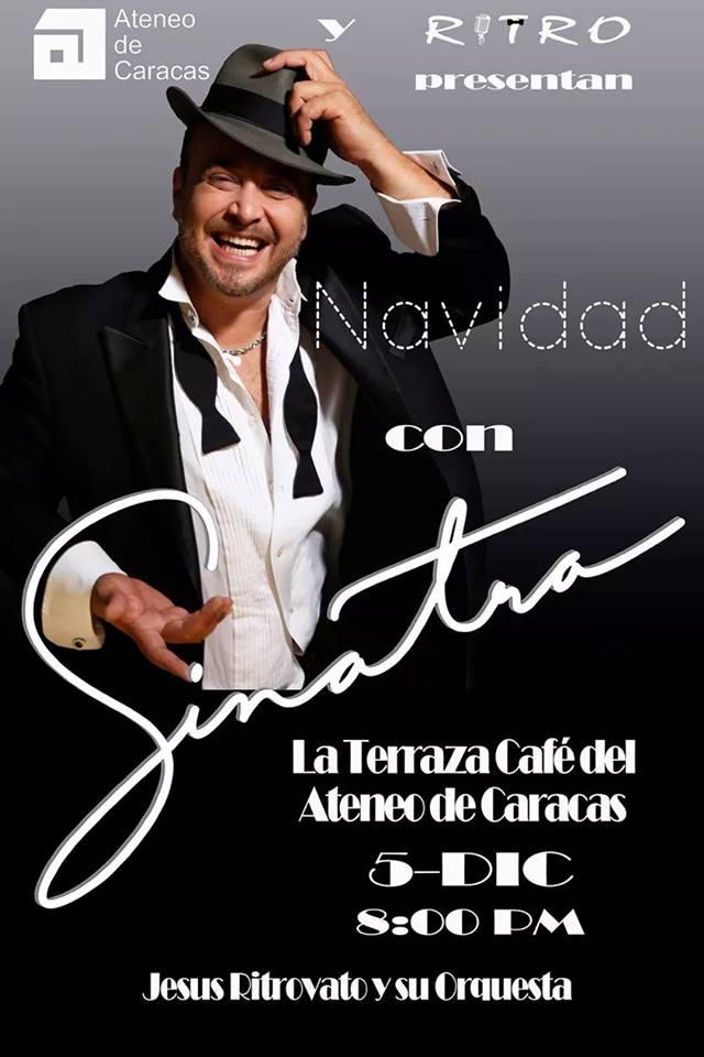 Jesús Ritrovato presenta Navidad con Sinatra en el Ateneo