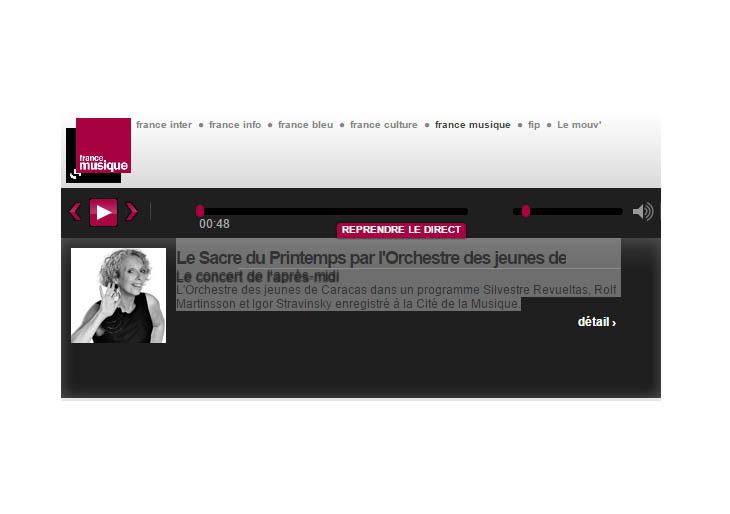 Así sonó la Consagración de la Primavera en París de la mano de la Sinfónica Juvenil de Caracas