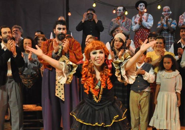 Betzabeth Talavera destaca en la Ópera I Pagliacci