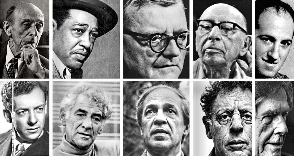 10 grandes compositores del siglo XX