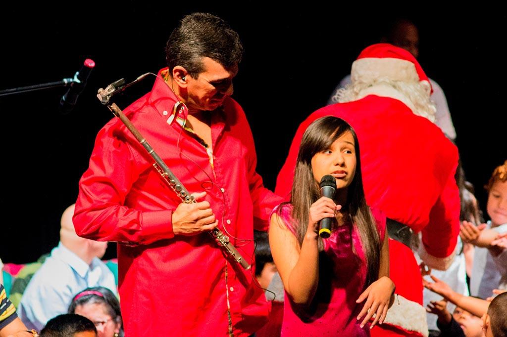Huascar con Lucia Valentina