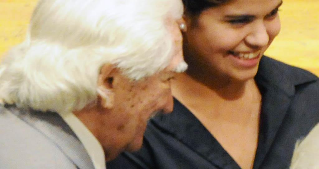 Un homenaje literario y musical se le brindó al maestro Inocente Carreño