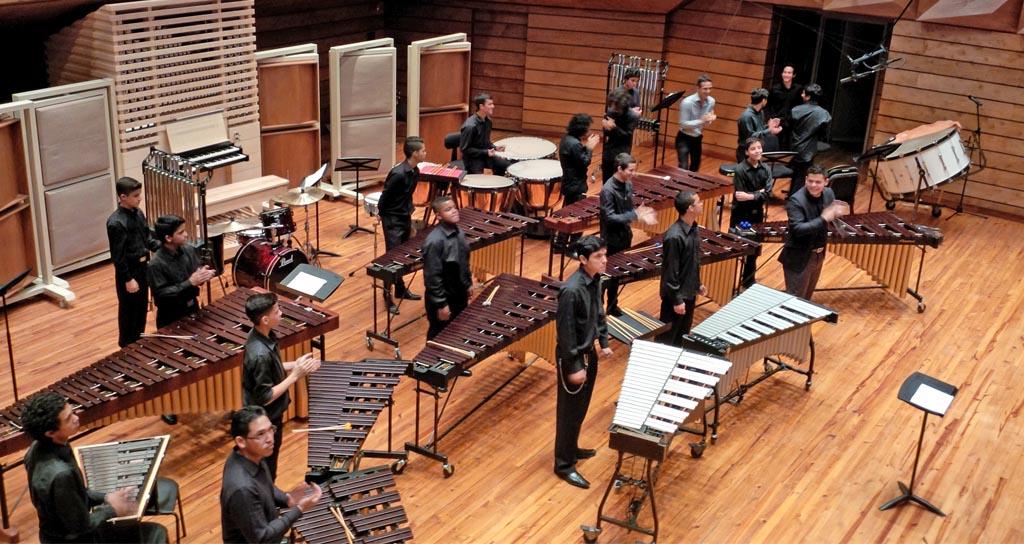 Orquesta de la Academia Latinoamericana de Percusión debuta en Caracas