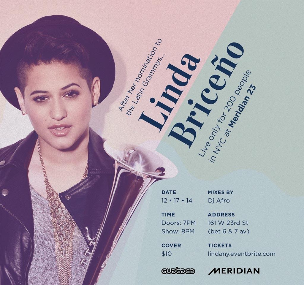 Linda Briceño arranca el ciclo de Noches de Guataca en Nueva York
