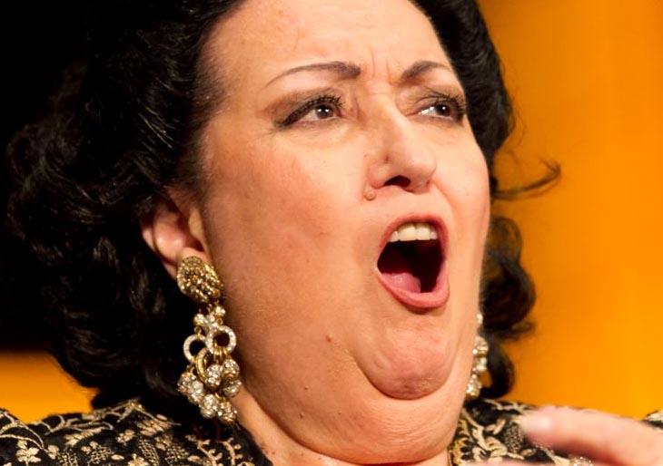 Los humildes orígenes de Montserrat Caballé