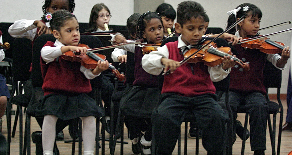 El Sistema celebra la Navidad con 40 mil conciertos y recitales