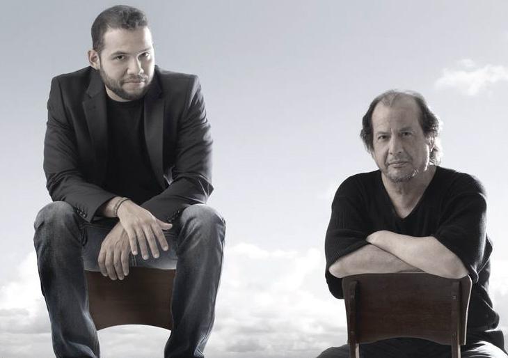 Juan Carlos Núñez en el piano y el cantautor José Alejandro Paredes se lanzan 'Río Arriba' para presentarnos una producción discográfica de colección