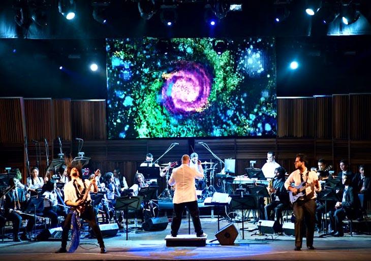 Orquesta de Rock Sinfónico Simón Bolívar también celebra los 40 años de El Sistema