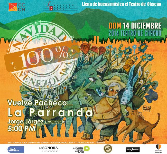 Vuelve Pacheco Navidad 100