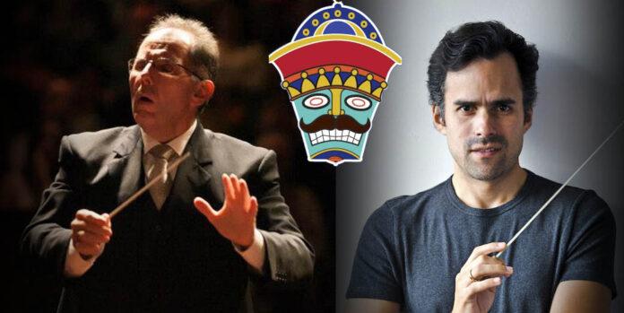Rodolfo Saglimbeni y Alfonso López Chollett