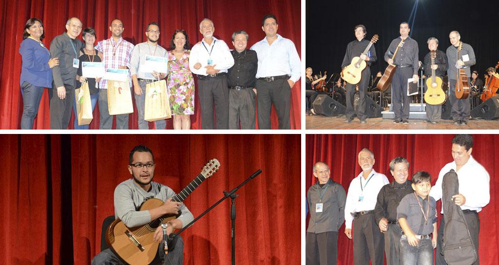 Brillante cierre del 3er Concurso Nacional de Guitarra Alirio Díaz
