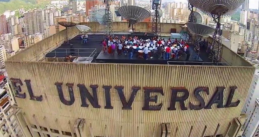 Gustavo Dudamel conduce a la Bolívar desde el PH de El Universal