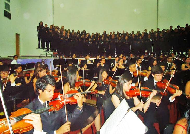184 músicos de El Sistema Guárico interpretan la Novena sinfonía de Beethoven