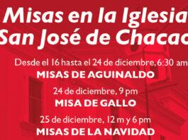 Misas en la Iglesia San José de Chacao