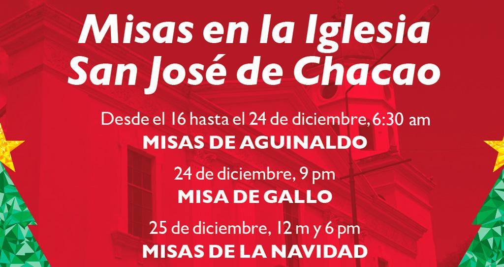 Misas de Navidad en Chacao