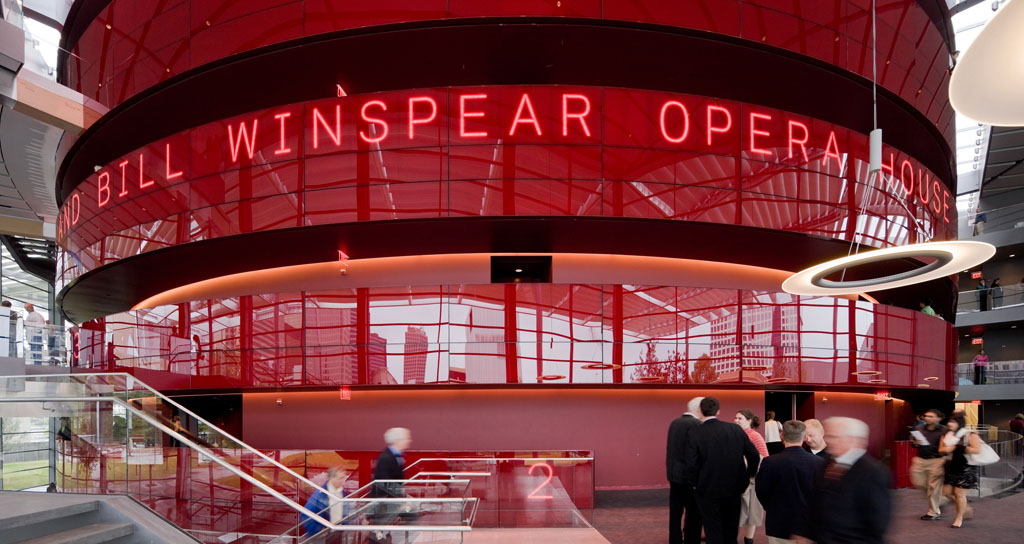 La democratización de la ópera. Winspear Opera House de Dallas