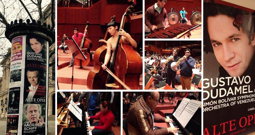 Crónica EFE: la Orquesta Simón Bolívar, una ventana a la música sin burocracia