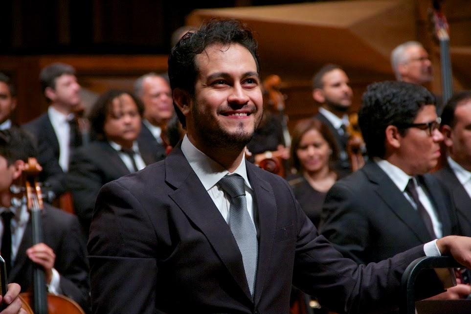 Este fue el primer concierto del año de Diego Matheuz