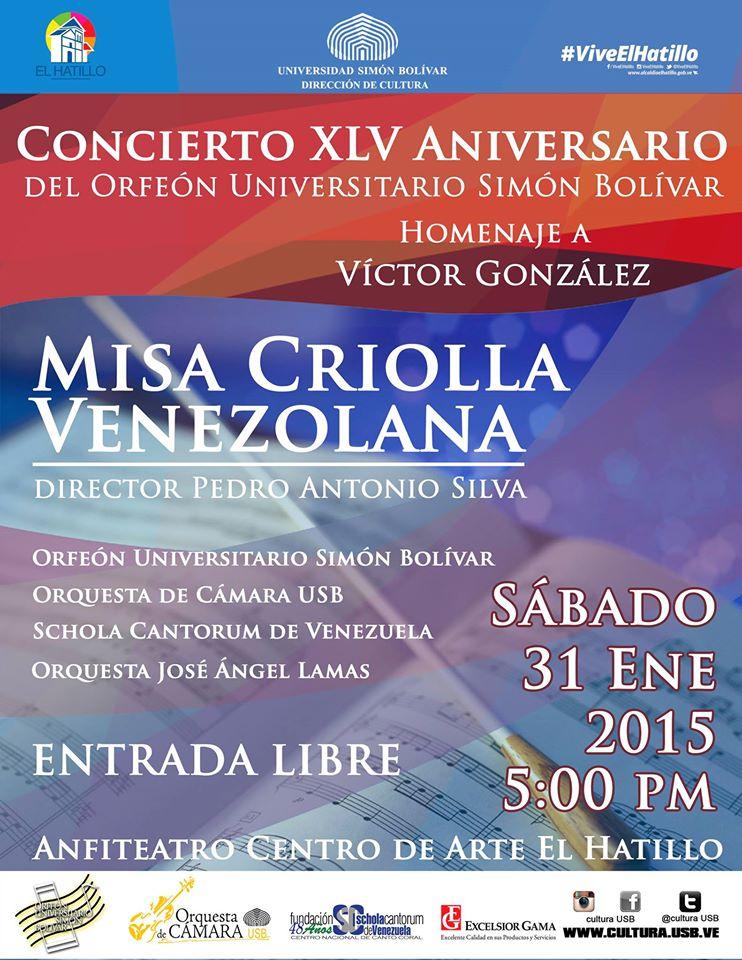 La Misa Criolla Venezolana de Pedro A. Silva estrena su versión sinfónico-coral