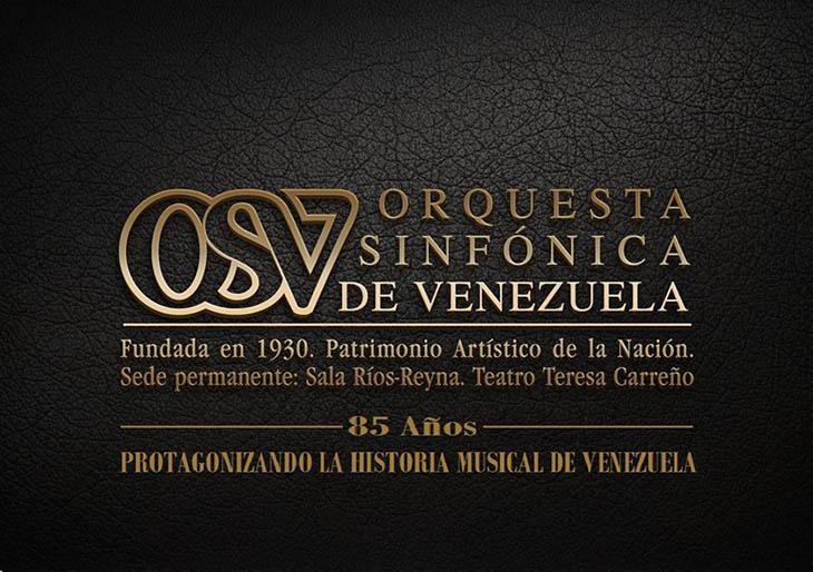 Orquesta Sinfónica de Venezuela: 85 años protagonizando la historia musical de Venezuela y de América Latina