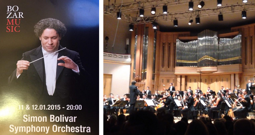 #OSSBEu2015 Con Wagner y Beethoven debutó la Bolívar en Bruselas