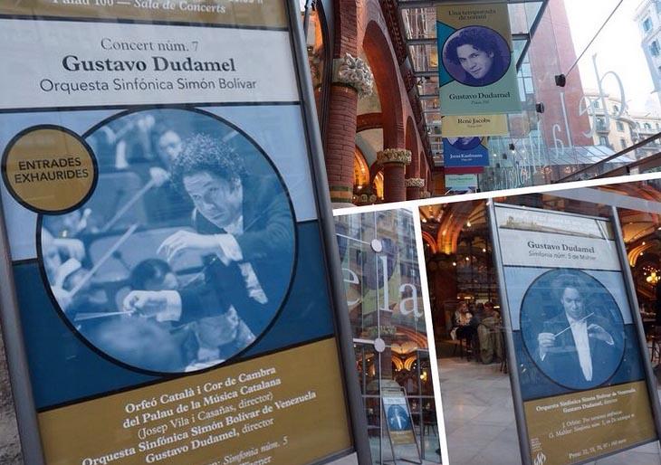 Gran concierto de Dudamel en el Palau