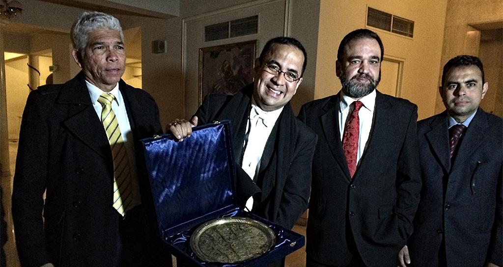 Eddy Marcano triunfa en Egipto