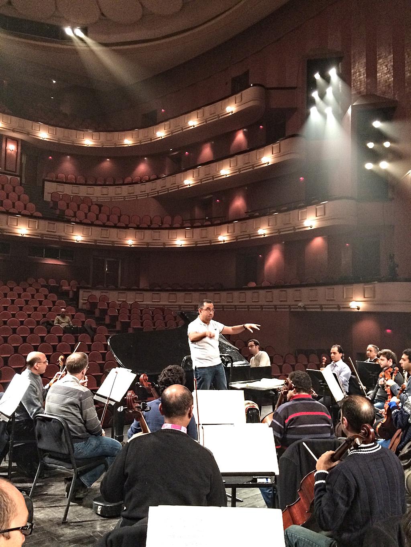 Eddy Marcano Egipto y Orquesta Sinfonica de El Cairo