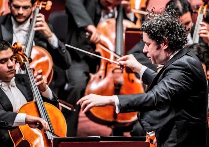 Gustavo Dudamel da brillo a Julián Orbón