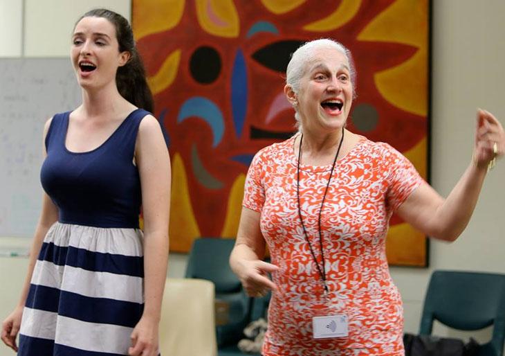 La Maestra María Guinand comienza 2015 con un intenso programa de trabajo en Australia