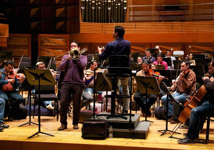 La música del italiano Nino Rota sonará en el trombón de Miguel Sánchez