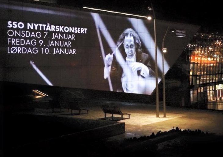 Debut de Christian Vásquez como director de la Stavanger Symphony