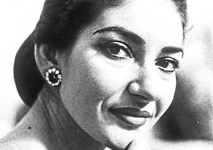 María Callas, la lucía de lammermoor
