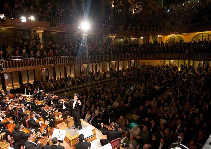 Debut en el templo modernista de la música catalana
