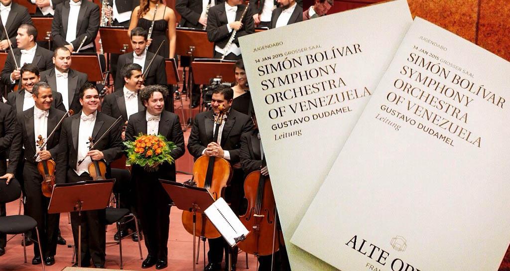 Fráncfort vive la pasión de Gustavo Dudamel y la sinfónica Simón Bolívar