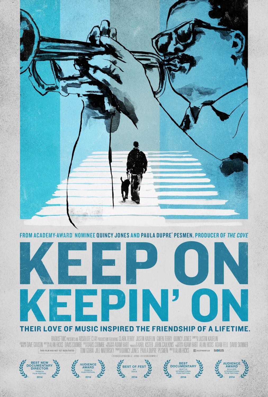 Keep On Keepin' On retrata la faceta educativa de Clark Terry, trompetista e inspirador de Miles Davis.