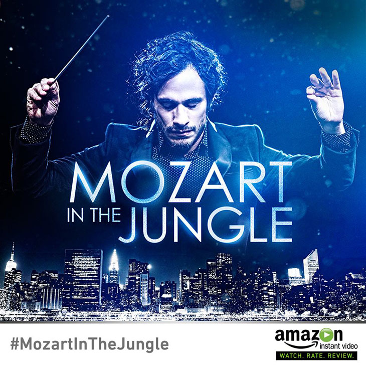 Mozart in the jungle: una versión ficticia del director Gustavo Dudamel