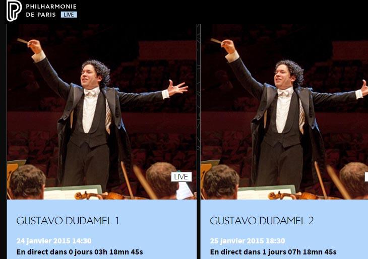 Disfrute en vivo los conciertos de la Bolívar en la Philharmonie de París